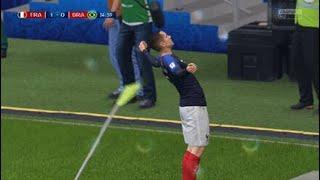 FIFA World cup 2018 France vs Brazil 5-1