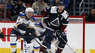 NHL Highlights | Blues vs Avalanche - Jan. 18, 2020