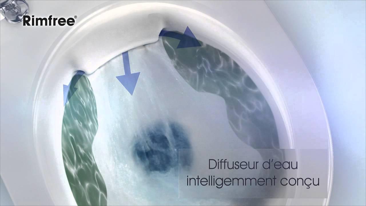 Sphinx Rimfree Toilet : Sphinx rimfree fr youtube
