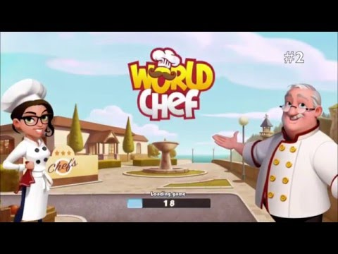 World Chef - #2 Pizza, cheese and tomato sauce - Gameplay