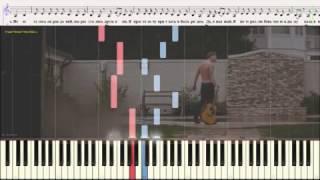 Я просто хочу приехать - Алексей Воробьёв  (Ноты и Видеоурок для фортепиано) (piano cover)