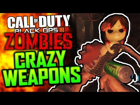 CRAZY CUSTOM WEAPONS! - Black Ops 3 Custom Zombies Mods