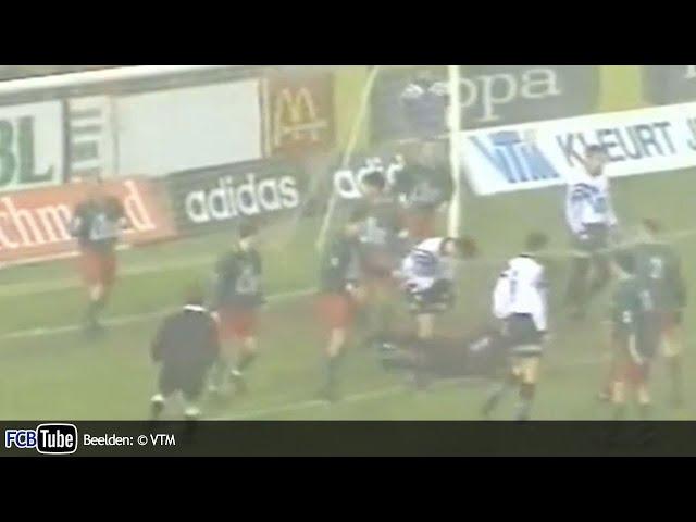 1995-1996 - Beker Van België - 01. 16de Finale - Club Brugge - FC Poederlee 1-0