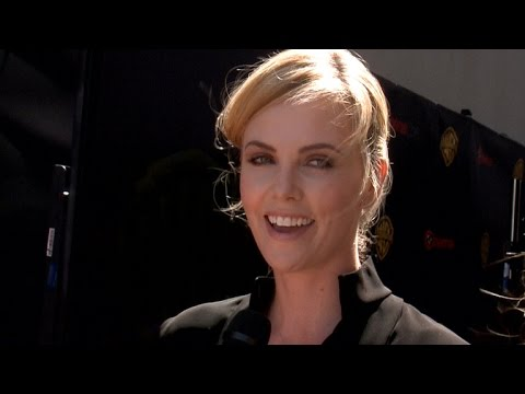 Charlize Theron Gushes Over Beau Sean Penn: 'I'm Really Happy'