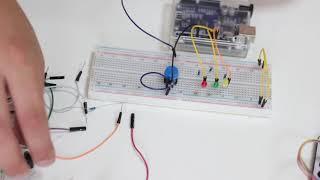 Школа программирования Geek Land - Видео урок по работе с Arduino Uno - светофор..
