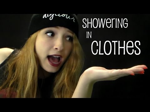 Showering in Clothes Challenge *GoPro*