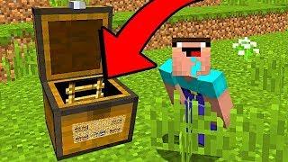 НУБ НАШЕЛ СЕКРЕТНУЮ БАЗУ в СУНДУКЕ В Майнкрафте! Minecraft Мультики Майнкрафт троллинг Нуб и Про