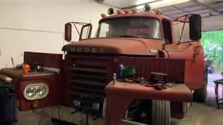 First start Detroit Diesel 8v71 Dodge 900