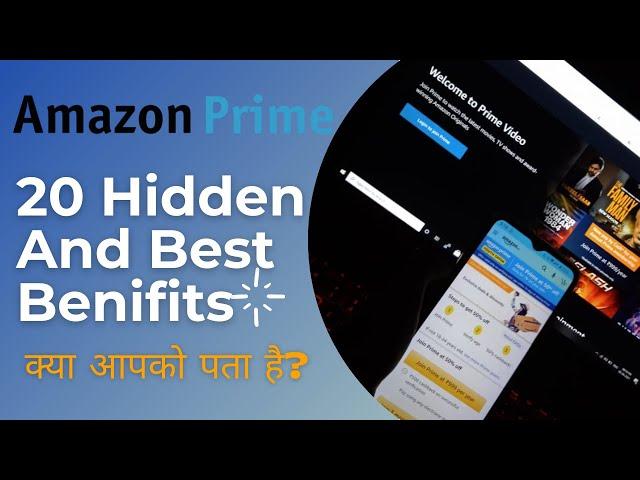 Amazon Prime 20 Best & Hidden Benefits Jo Aapko Pata Hone Chahiye😇   Amazon Prime Membership in 2021