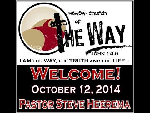 10 12 2014 Pastor Steve Heerema