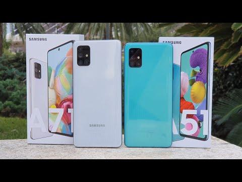 Samsung Galaxy A71 vs A51 ¿Cuál DEBES COMPRAR?