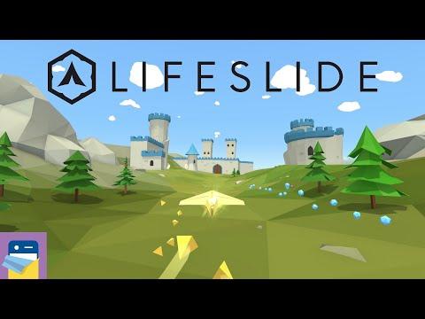 Lifeslide: Apple Arcade iPad Gameplay (by Dreamteck)