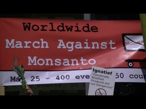 Penticton BC March on MONSANTO - Label GMO ☢☢ 25-05-2013