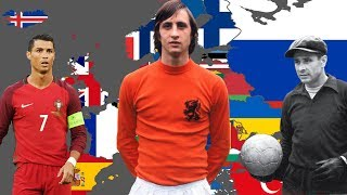 Best Footballer EVER from EVERY Country in Europe