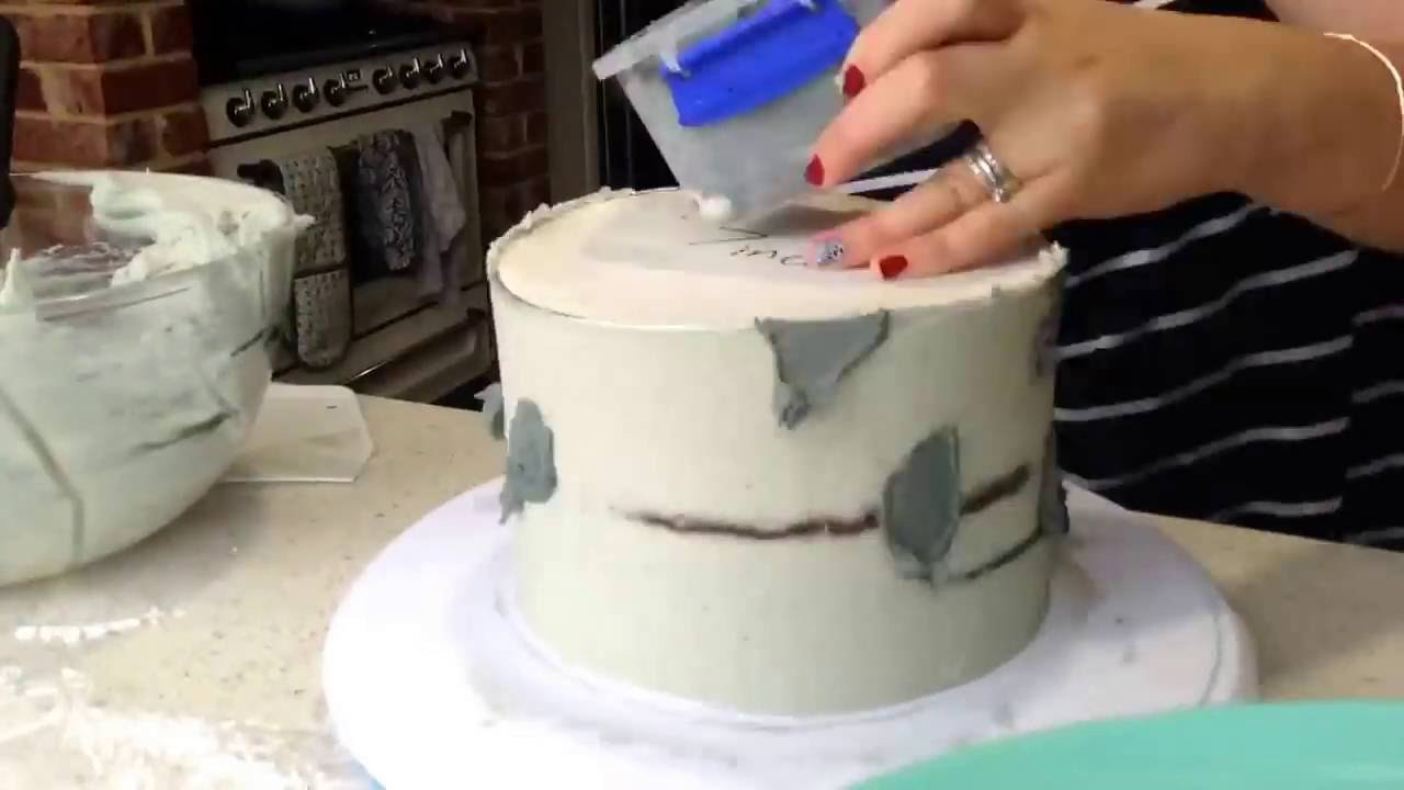 how to make a wedding cake look rustic timelapse assembling and decorating a succulent and 15892