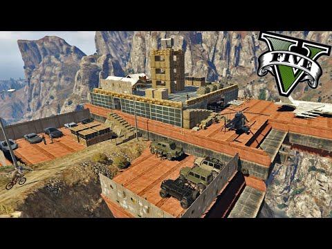 GTA V Editor De Mapas - La Mansion Secreta Presidencial y Militar - ElChurches