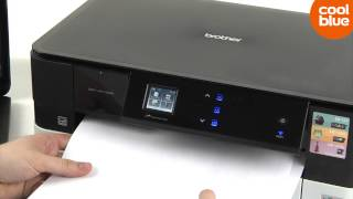 Brother DCP-J4110DW videoreview en unboxing (NL/BE)