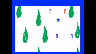 "[TAS] Intellivision Skiing ""Downhill"" in 33.8"