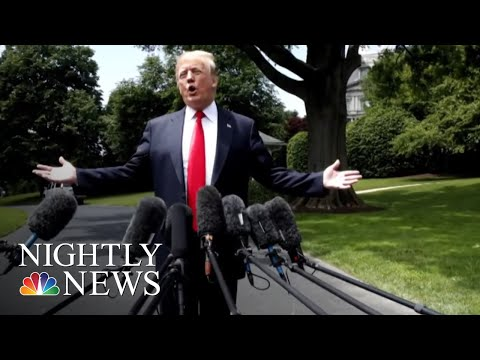 'Spygate': President Donald Trump Pushes Claim That FBI Spied On Campaign | NBC Nightly News