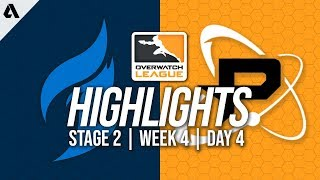 Dallas Fuel vs Philadelphia Fusion | Overwatch League Highlights OWL Stage 2 Week 4 Day 4