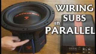 How To Wire DVC Subwoofers In Parallel // Dual 2 Ohm Voice Coil Sub Wiring | EXO Car Audio Tutorial