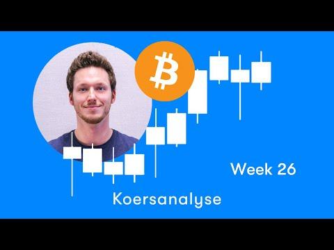 Bitcoin Koers Over De 10.000 Euro! 🚀| Technische Analyse Van Week 26, 2019 | BTC Direct