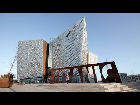 Titanic Belfast Visitor Centre and Titanic Hotel