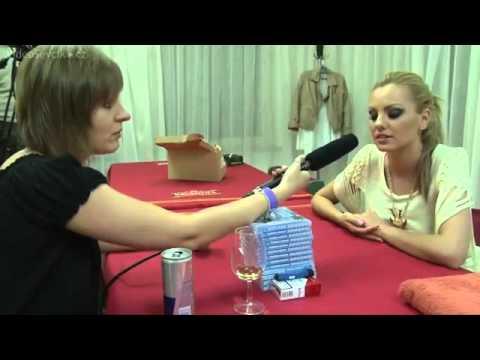 Alexandra Stan Interview Czech Republic