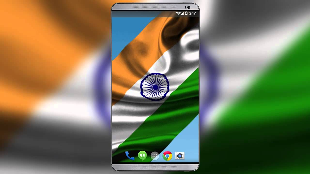 indian flag live wallpaper - youtube