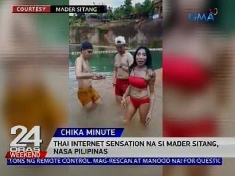 Thai internet sensation na si Mader Sitang, nasa Pilipinas