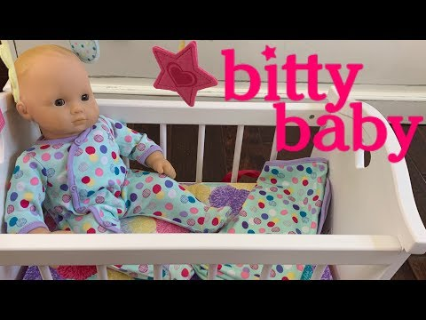 American Girl Bitty Baby Crib And Haul