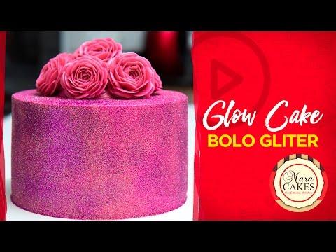 Glow Cake - Bolo Gliter