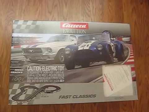review of carrera evolution 1 32 analog slot car track set. Black Bedroom Furniture Sets. Home Design Ideas