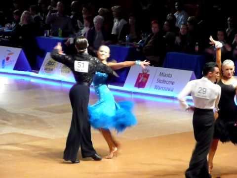 Mistrzostwa Polski LA 2011 - 1/4 samba - Kostiantyn Samarskyi i Agnieszka Kaczorowska
