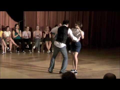 2009 ILHC - Invitational Jack & Jill: Zack Richard & Ramona Staffeld