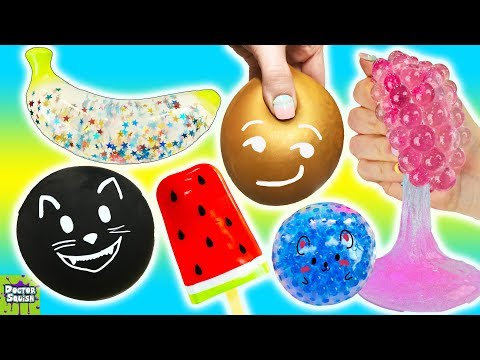 Squishy Roulette Game! What's Inside Prank Kitty Squishy!? Doctor Squish