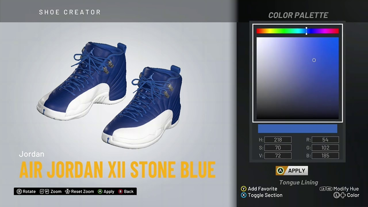 air jordan 12 stone blue release date