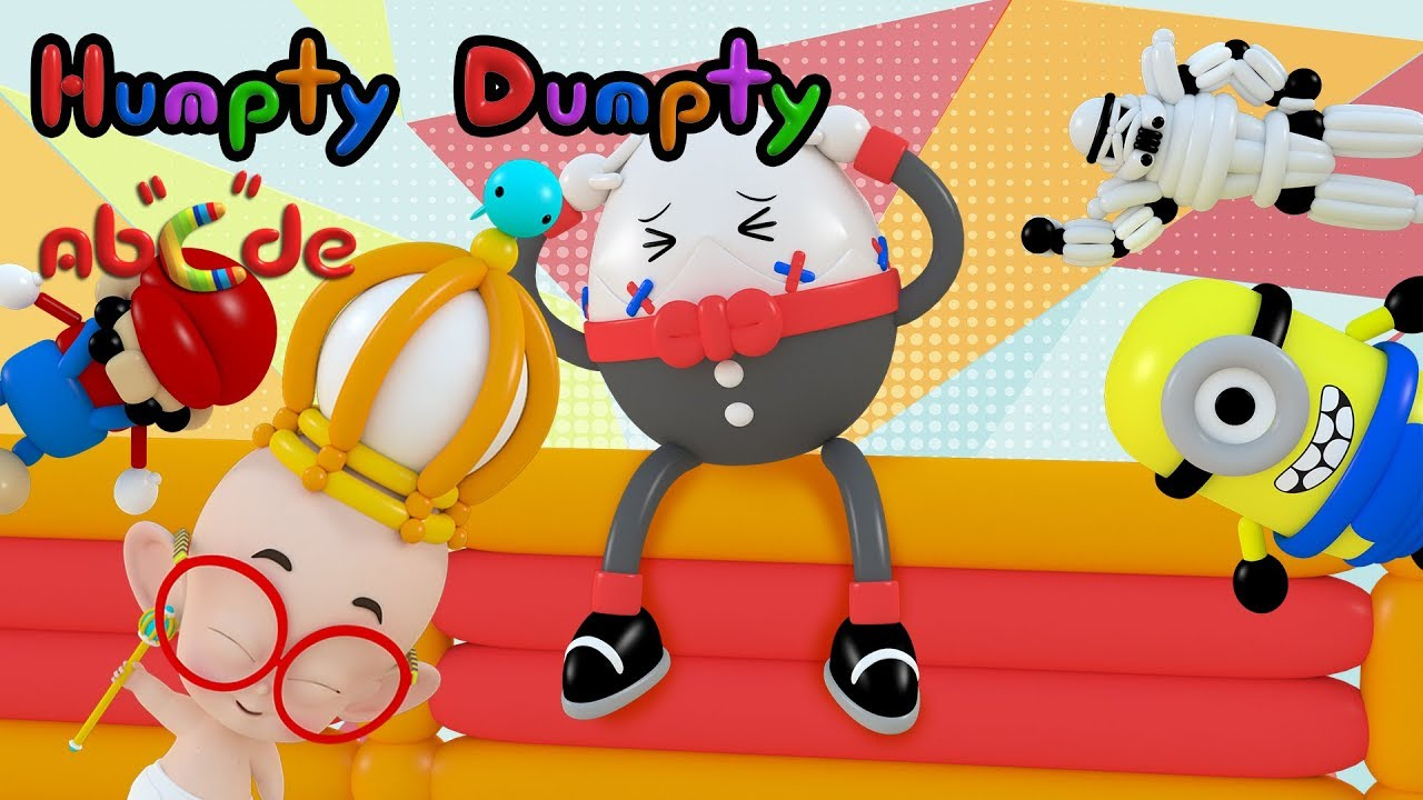 Humpty Dumpty sat on a wall lyrics - na na na song for kids ...