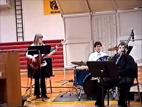 East Buchanan Middle School Jazz Band-Cantaloupe Island