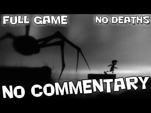 LIMBO - Full Game Walkthrough【NO Deaths】