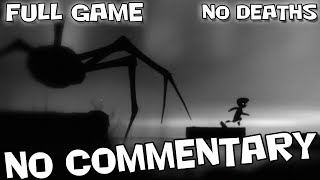 LIMBO - Full Game Walkthrough【NO Deaths】