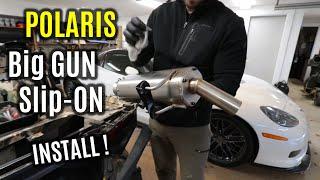 EXO Stainless 1000 Big Gun Exhaust Polaris Sportsman 850 // SP 17-20 17-20