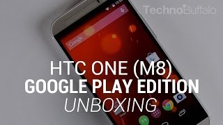 HTC One (M8) Google Play Edition Unboxing