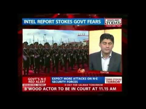 China Fueling Terrorism In North East India?