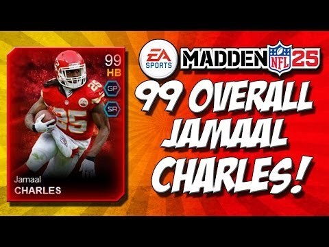 Madden 25 Ultimate Team - 99 Overall Jaamal Charles Gameplay! - MUT 25