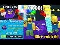 Update! Best Pet +275 Level! Super Rebirth! +1k Scoop! New Obby! - Ice Cream Simulator