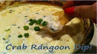 Crab Rangoon Dip - Quick & Easy Appetizer Recipe!