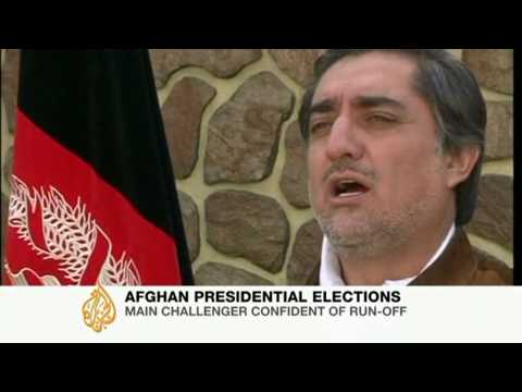 Karzai rival calls for Afghan election run-off - 15 Oct 09