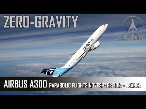 Zero G Flight - Parabolic Flight With The Airbus A300 Of Nov