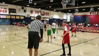 TYBL 5TH Grade Clippers vs Celtics 1-5-2019